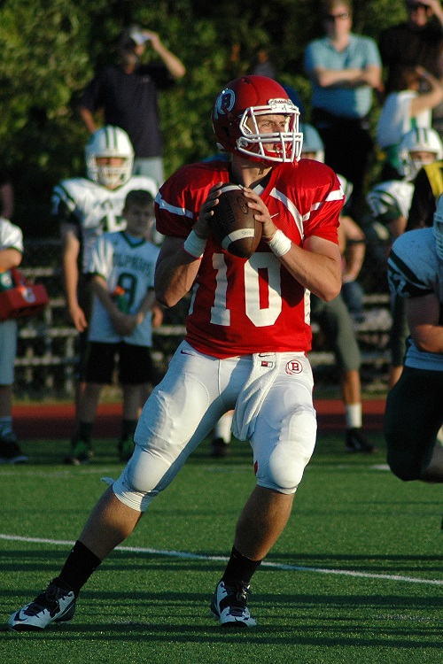 Quarterback Griffin Burke ( Junior)